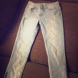7 for all mankind - girls ankle jeans